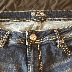 Silver plus size jeans
